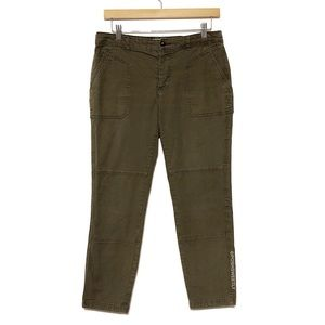 Anthropologie Hei Hei Olive Cropped Chino
